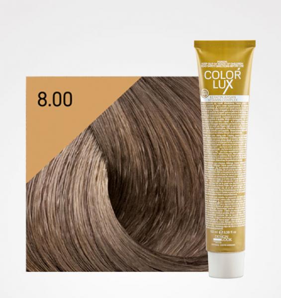 Vopsea de par blond deschis intens 8.00 Color Lux 100 ml 0