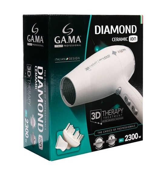 Uscator de par Diamond Ceramic Ion 3D Therapy 2300W 3