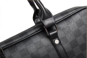 Geanta laptop unisex piele neagra Casi1