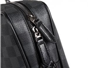 Geanta laptop unisex piele neagra Casi3