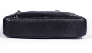 Geanta laptop barbati piele neagra Gabriel2