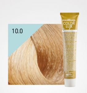 Vopsea de par blond platinat 10.0 Color Lux 100 ml0
