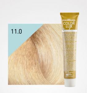 Vopsea de par blond platinat super deschis 11.0 Color Lux 100 ml0