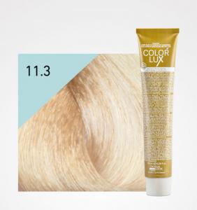 Vopsea de par blond auriu platinat super deschis 11.3 Color Lux 100 ml0