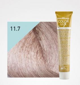 Vopsea de par blond irizat platinat super deschis 11.7 Color Lux 100 ml0