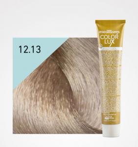 Vopsea de par blond bej extra platinat super deschis 12.13 Color Lux 100 ml0