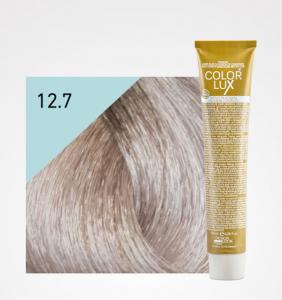 Vopsea de par blond irizat extra platinat super deschis 12.7 Color Lux 100 ml0