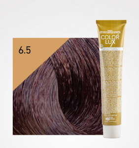 Vopsea de par blond mahon inchis 6.5 Color Lux 100 ml0