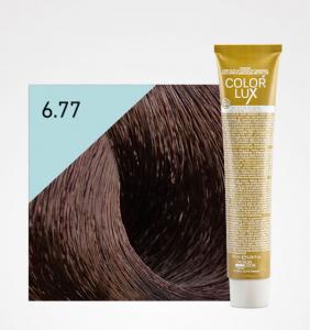 Vopsea de par ciocolata amara 6.77 Color Lux 100 ml0