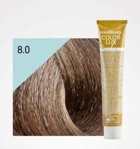 Vopsea de par blond deschis 8.0 Color Lux 100 ml0