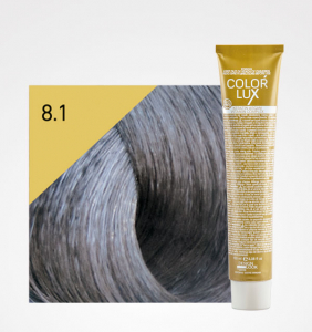 Vopsea de par blond cenusiu deschis 8.1 Color Lux 100 ml0