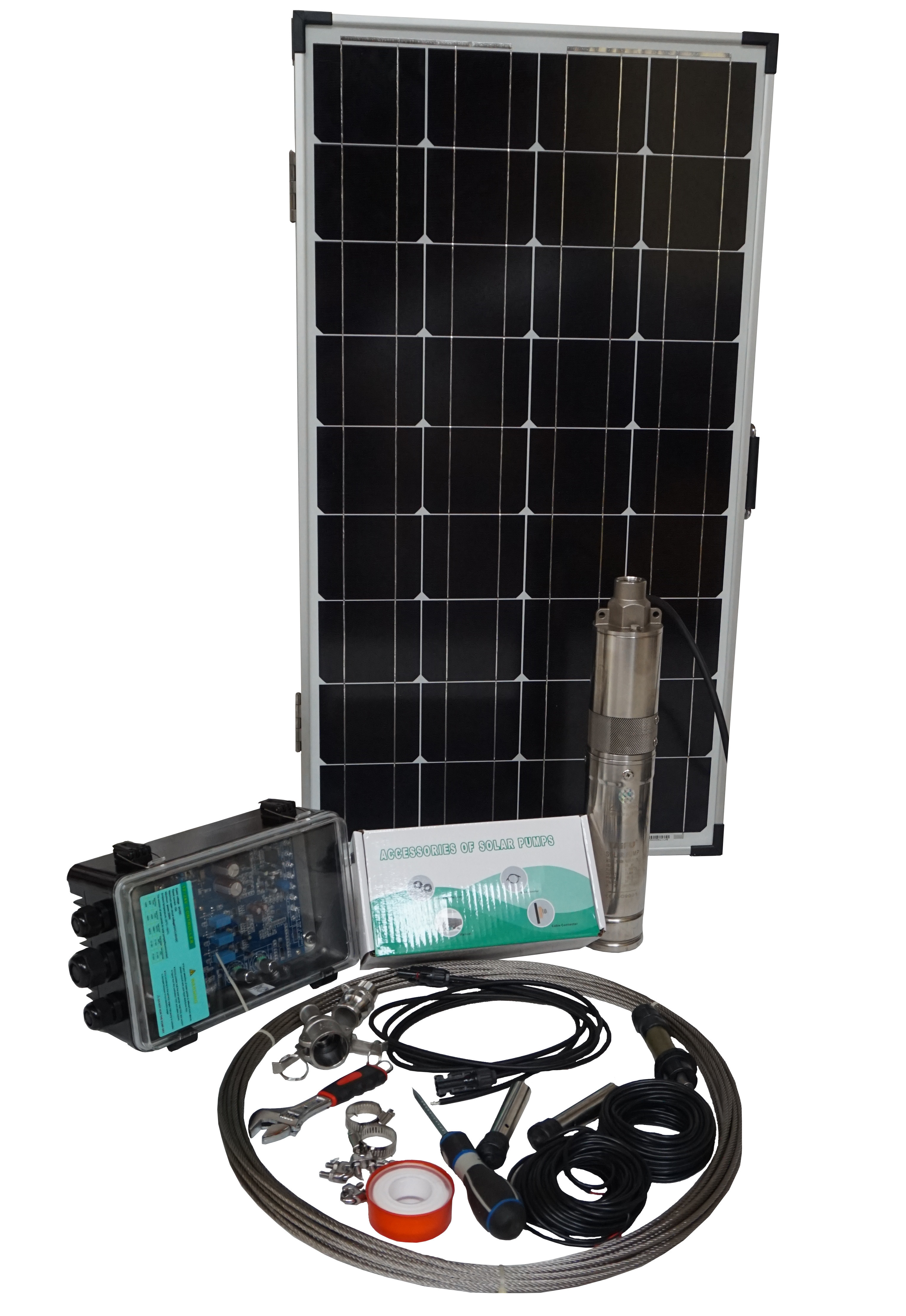 Sistem pompare apa cu panouri solare Taifu 3TSS0.76-55-24/120 [0]
