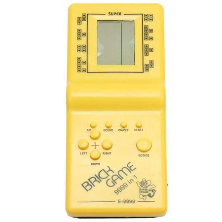 Consola de jocuri, GMO, Brick Game - Jocurile copilariei, galben 0