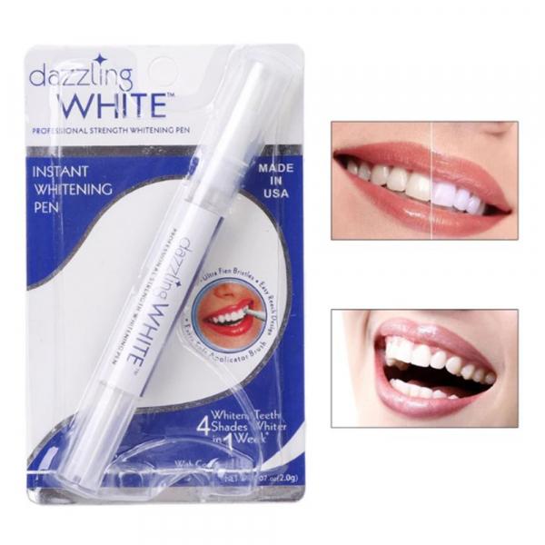 Creion pentru albirea dintilor, GMO, Dazzling White 1