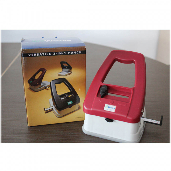 Perforator de birou multifuntional, Warrior, 3 in 1 1