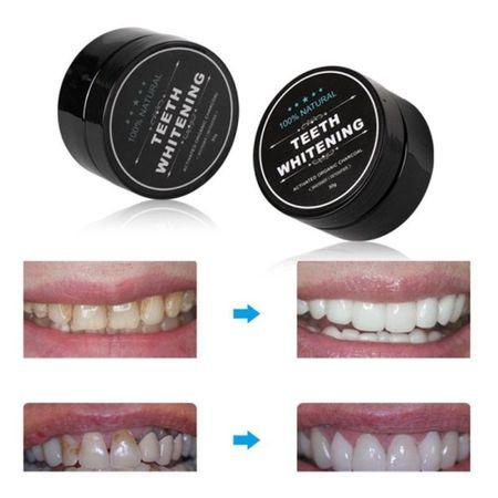 Pudra de albire si detoxifiere dinti, 100% naturala 4