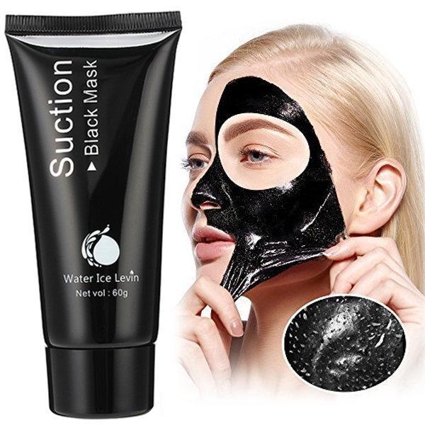 Masca de fata, GMO, Black Mask, pentru cosuri si puncte negre 5