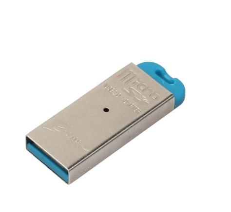 Cititor de carduri microSD, GMO USB 2.0 3