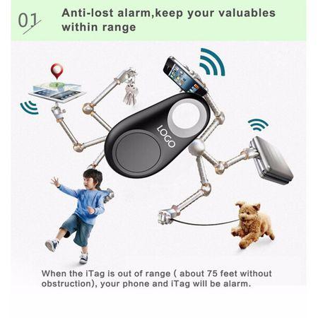 Breloc de chei cu functie anti-pierdere, GMO, Keyfinder, cu bluetooth si GPS 4