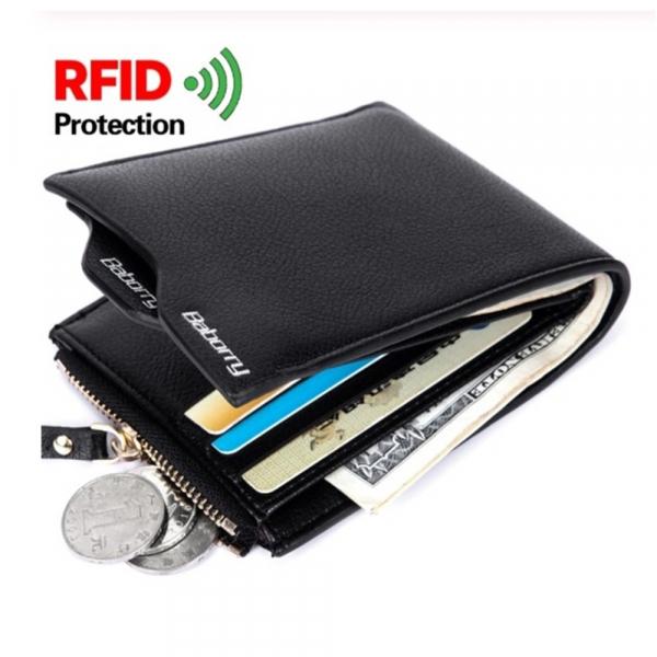 Portofel barbati, GMO, RFID Protect, negru 3