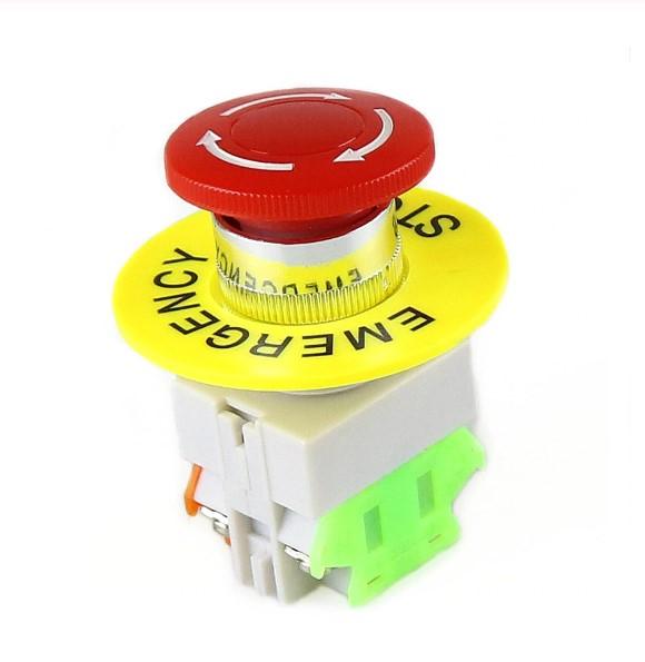 Intrerupator pentru oprirea de urgenta, GMO, LBCY090, cu buton de apasare 0