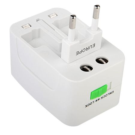 Adaptor de priza international, GMO, All in one 4