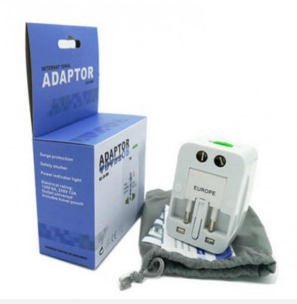 Adaptor de priza international, GMO, All in one 1