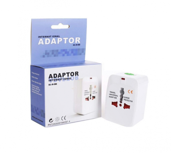 Adaptor de priza international, GMO, All in one 0