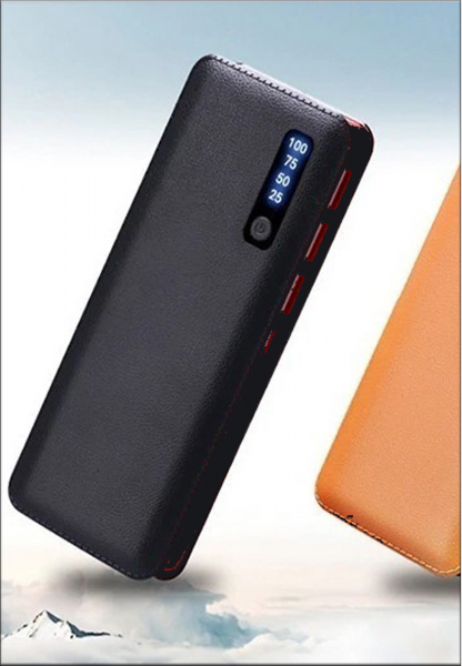 Baterie externa cu incarcare rapida si LED, GMO, Power Box, 30.000 mAh, neagra 3