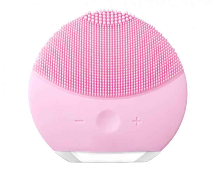 Dispozitiv de curatare faciala, FORCLEAN, Pearl Pink, 8000 oscilatii/minut, 8 trepte de viteza, impermeabil, roz 0