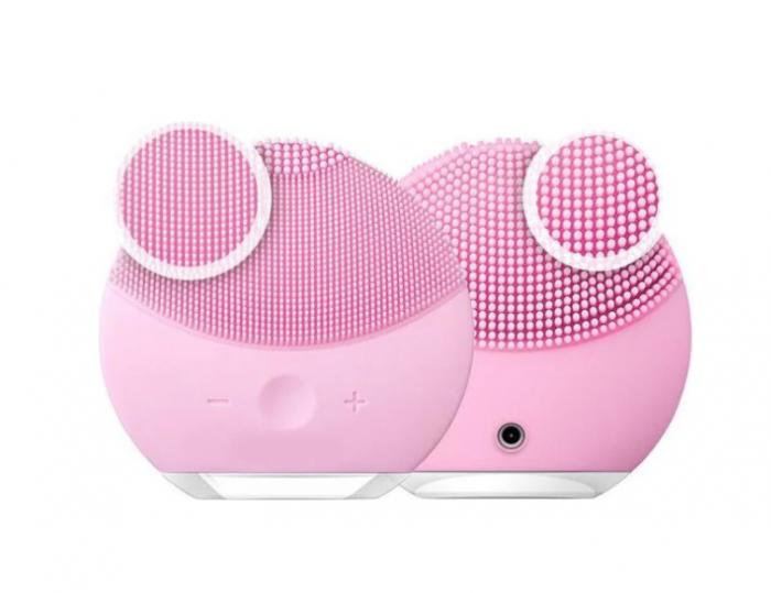 Dispozitiv de curatare faciala, FORCLEAN, Pearl Pink, 8000 oscilatii/minut, 8 trepte de viteza, impermeabil, roz 3