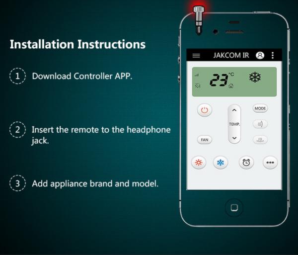 Dispozitiv smart control, GMO, IR pentru IPhone 10