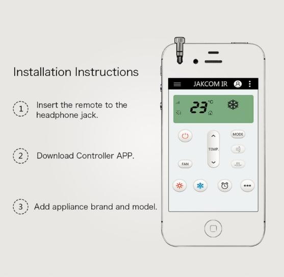 Dispozitiv smart control, GMO, IR pentru IPhone 1