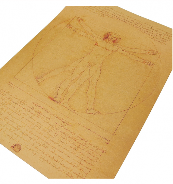 Poster roluit din hartie, GMO, Leonardo Da Vinci 2
