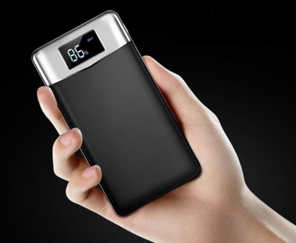 Baterie externa, GMO, 25000mAh, neagra 3