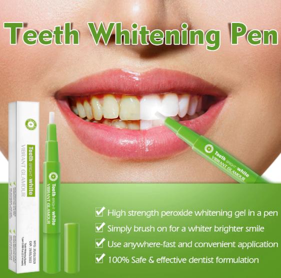 Creion pentru albirea dintilor, GMO, Green 4