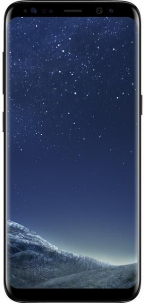 "Telefon Mobil Samsung Galaxy S8, Procesor Octa-Core 2.3GHz / 1.7GHz, Super AMOLED Capacitive touchscreen 5.8"", 4GB RAM, 64GB Flash, 12MP, 4G, Wi-Fi, Android, Midnight Black 0"