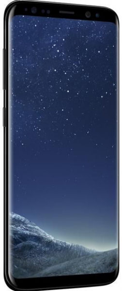 "Telefon Mobil Samsung Galaxy S8, Procesor Octa-Core 2.3GHz / 1.7GHz, Super AMOLED Capacitive touchscreen 5.8"", 4GB RAM, 64GB Flash, 12MP, 4G, Wi-Fi, Android, Midnight Black 1"