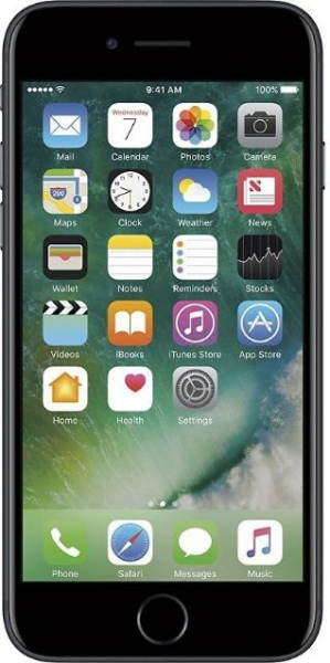 Telefon mobil Apple iPhone 7, Procesor Quad-Core, 2GB RAM, 32GB, 12MP, negru 0