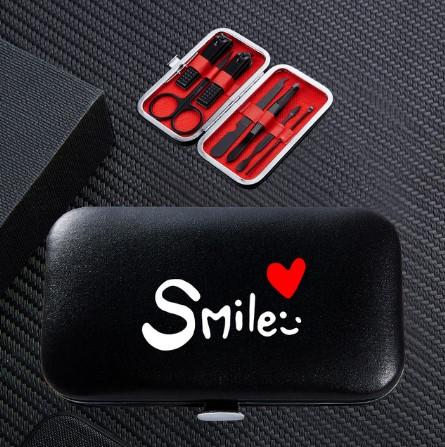 Trusa cu accesorii pentru manichiura/pedichiura, GMO, Care Yourself Smile 2