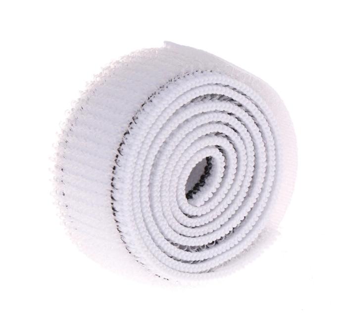 Banda fixare cu arici si adeziv, GMO, Velcro Duo, 20 mm, 60 cm [0]