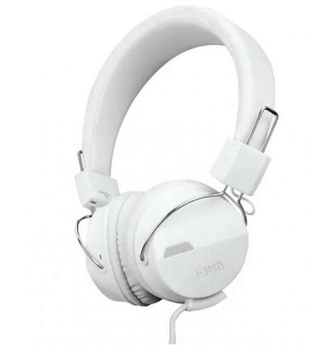 Casti audio On-Ear, GMO, albe [0]