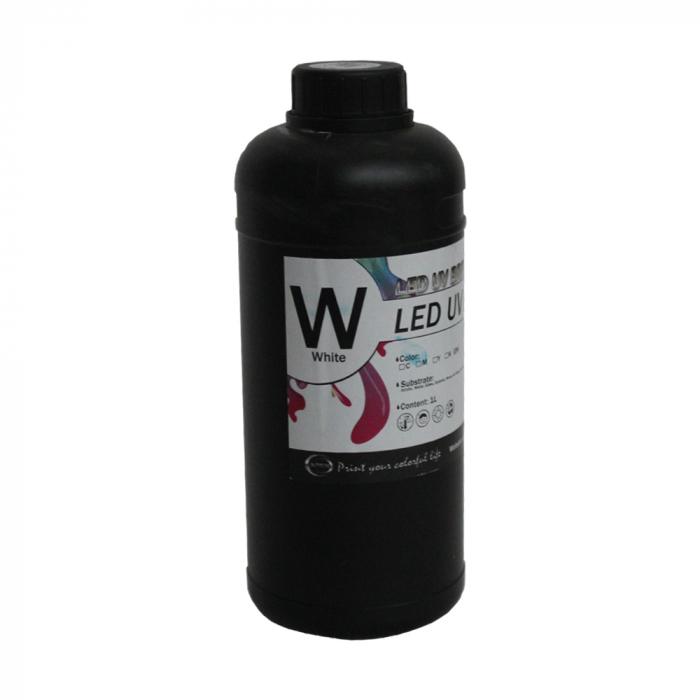 Cerneala UV DX5, APEX, culoare alb 1000ml [0]