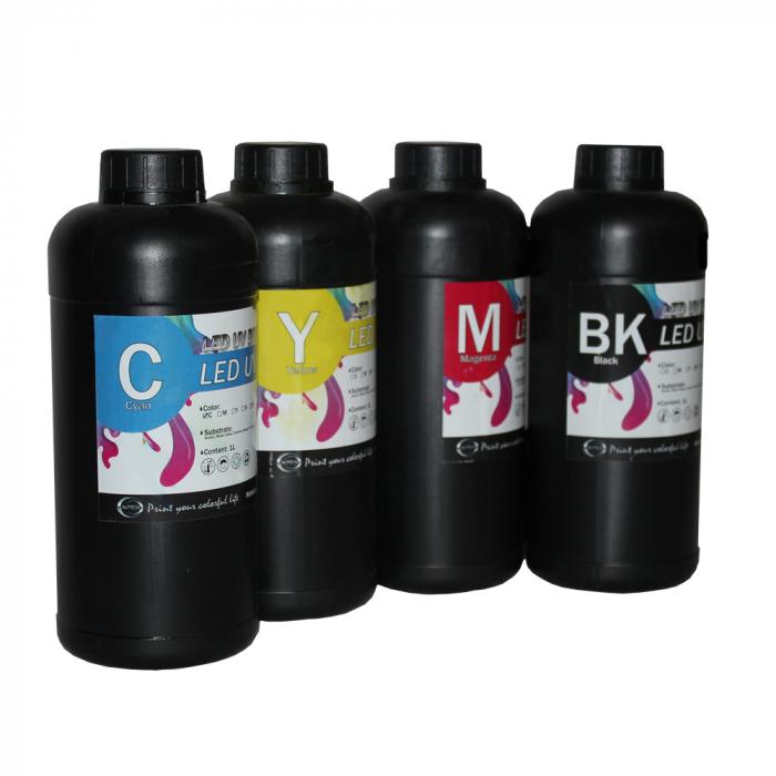 Cerneala UV DX5, APEX, culoare C/M/Y/K 1000ml 0