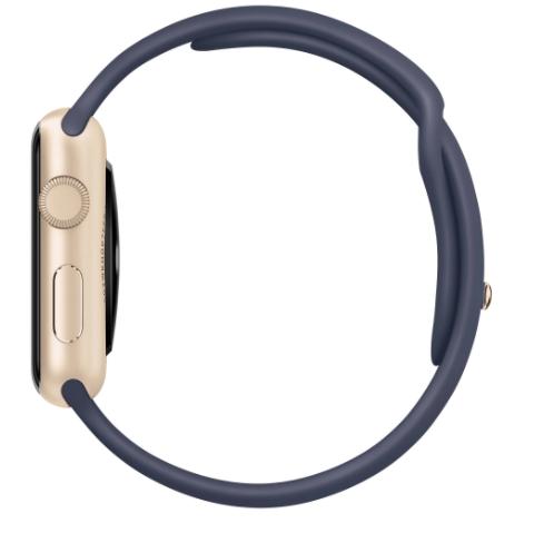 Curea elastica pentru Apple Watch, LoopBracelet, ADM, silicon, 42-44mm, albastra [3]