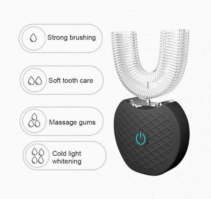 Dispozitiv pentru albirea dintilor, GMO, V-White, cu inteligenta artificiala AI [2]