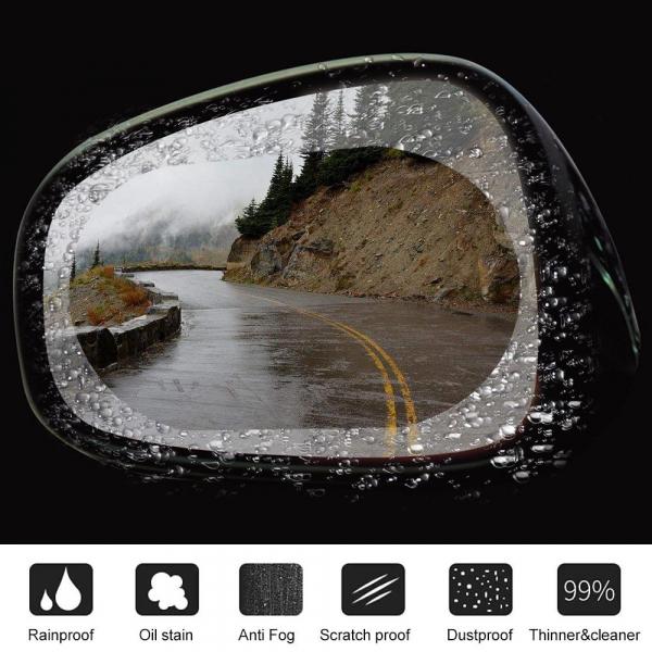 Set folie protectoare auto de oglinda, impotriva apei, GMO, Film Protect 4