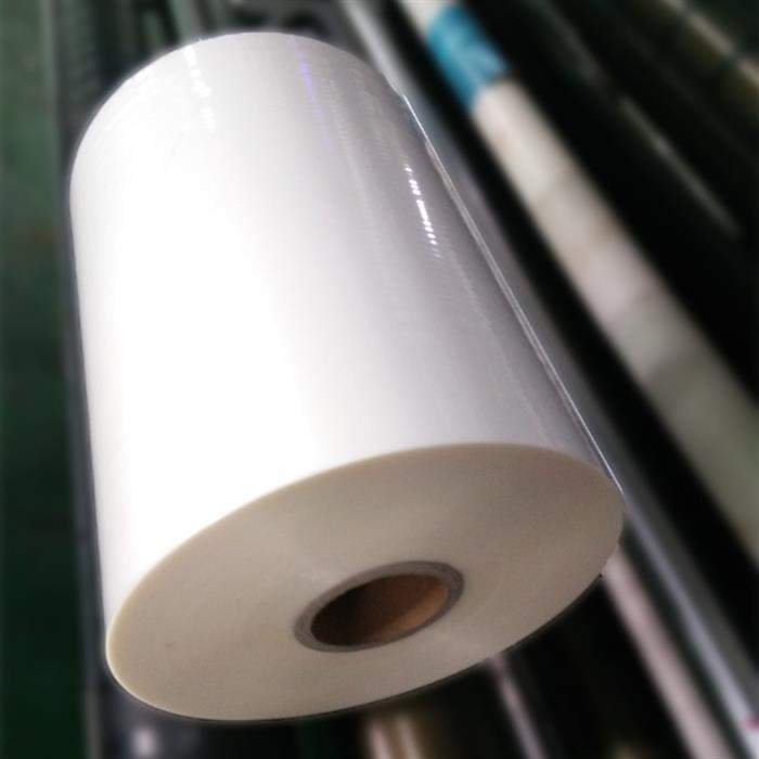 Folie de laminat in rola 330 mm x 200 m x 35 microni, aspect de finisare lucios, interior rola 25 mm 1