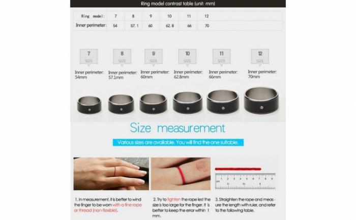 Inel Smart NFC GMO 4
