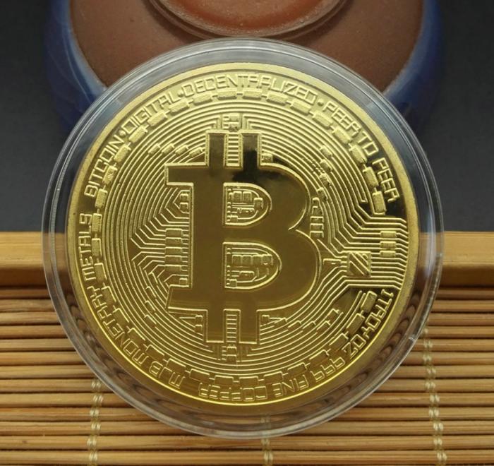 Moneda crypto pentru colectionari, GMO, Bitcoin [4]
